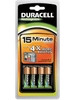 CHARGEUR DURACELL ULTRA RAPIDE 15 minute