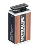 PILE LITHIUM 9 VOLTS LiMnO2 9V 1200mAh ULTRALIFE