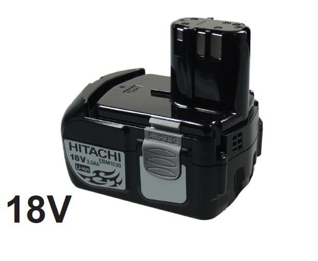 batterie hitachi 18v li ion ebm1830 bcl1830 futurebatteries. Black Bedroom Furniture Sets. Home Design Ideas