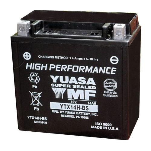 Batterie Moto 12v 12ah Ytx14h Bs Yuasa 110