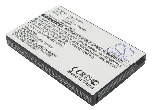 BATTERIE POUR SONY ERICSSON T600, T66 TYPE BST-20, BSL-14